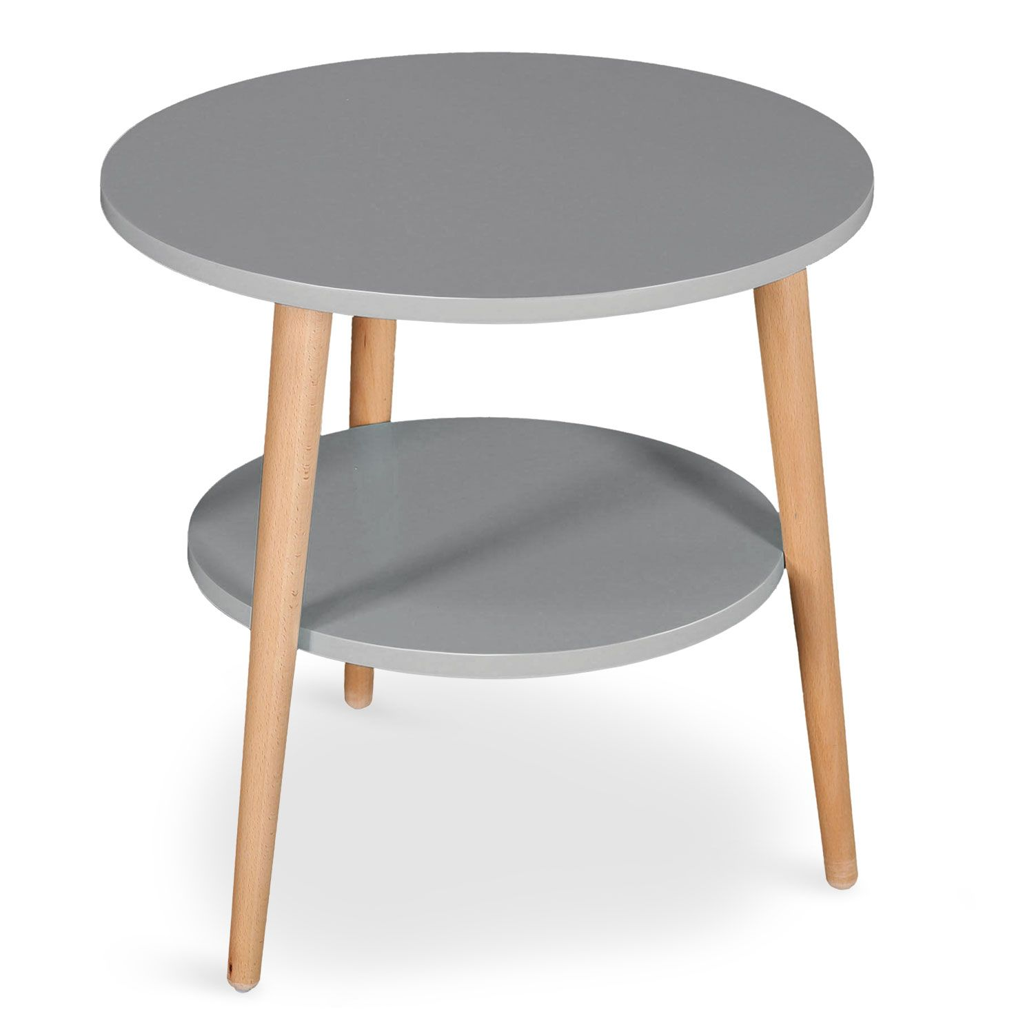 Table basse dappoint pyky gris