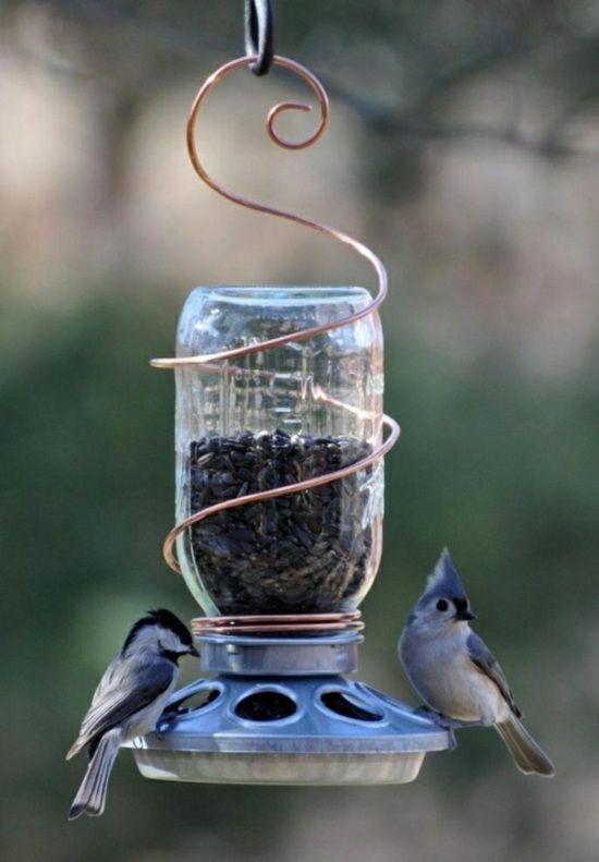 vogelhaus futter kunststoff-flasche zum-selber machen,