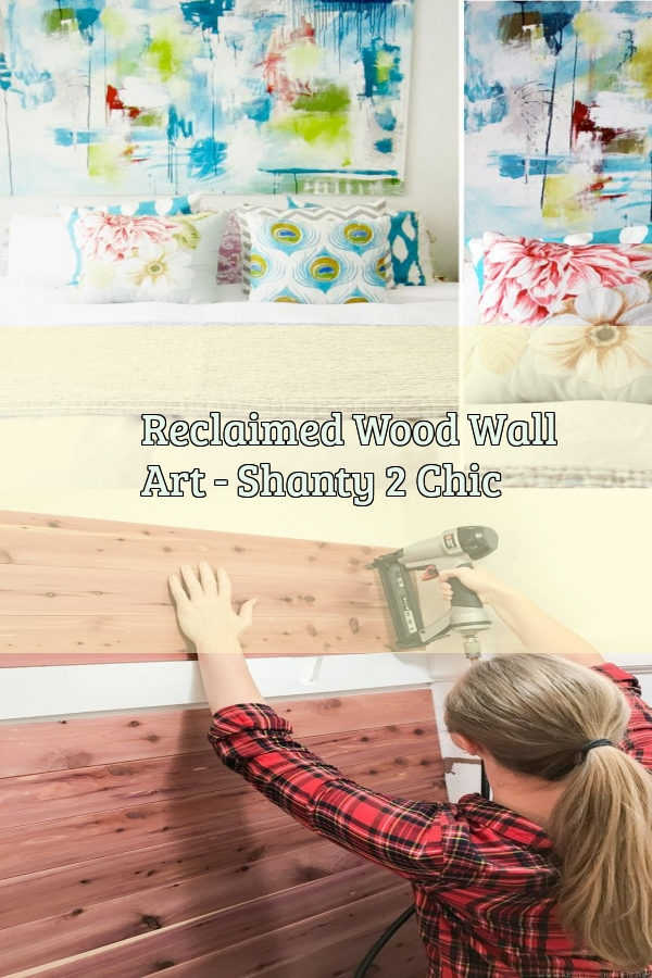 Reclaimed Wood Wall Art - Shanty 2 Chic