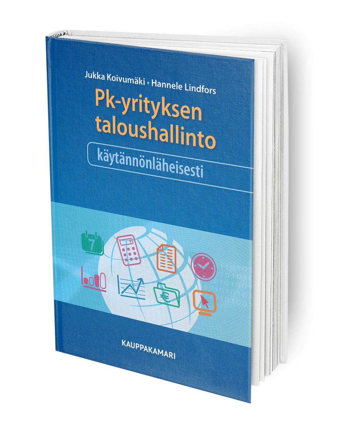 Kirja antaa kokonaiskäsityksen pk-yrityksen taloushallinnon järjestämisestä ja parhaista käytännöistä.