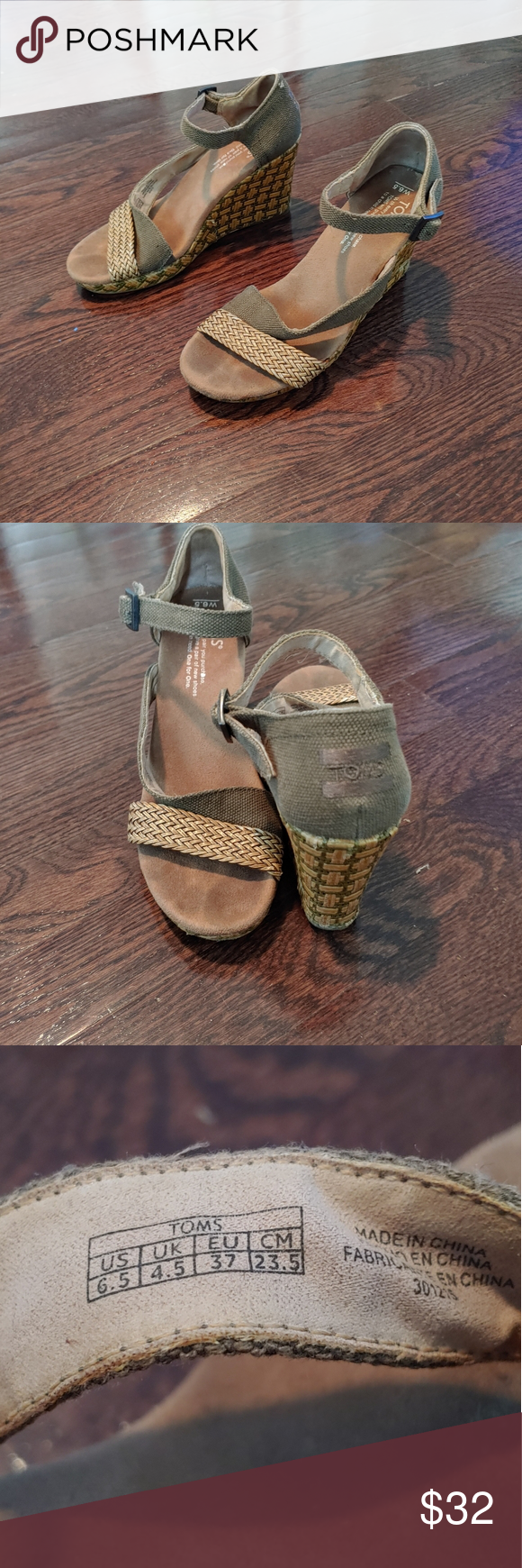 Toms wedges size:w6.5 Toms wedges size:w6.5 in good condition pre owned Toms Shoes Wedges #tomwedges Toms wedges size:w6.5 Toms wedges size:w6.5 in good condition pre owned Toms Shoes Wedges #tomwedges