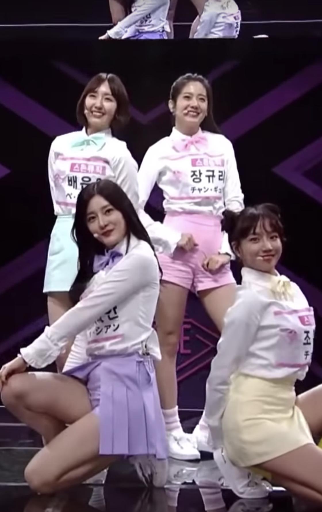 Jo Yuri, Jang Gyuri, Bae Eunyoung, Lee Sian (Stone Music
