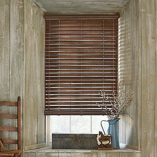 Rustic Wooden Blinds