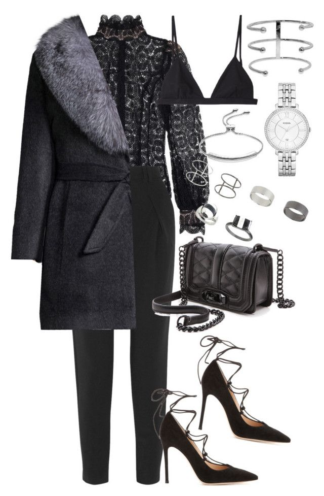 """""""Sans titre #2545"""" by christina95styles ❤ liked on Polyvore featuring moda, Zimmermann, Proenza Schouler, T By Alexander Wang, Sofia Cashmere, Gianvito Rossi, Rebecca Minkoff, Topshop, FOSSIL y Monica Vinader"""