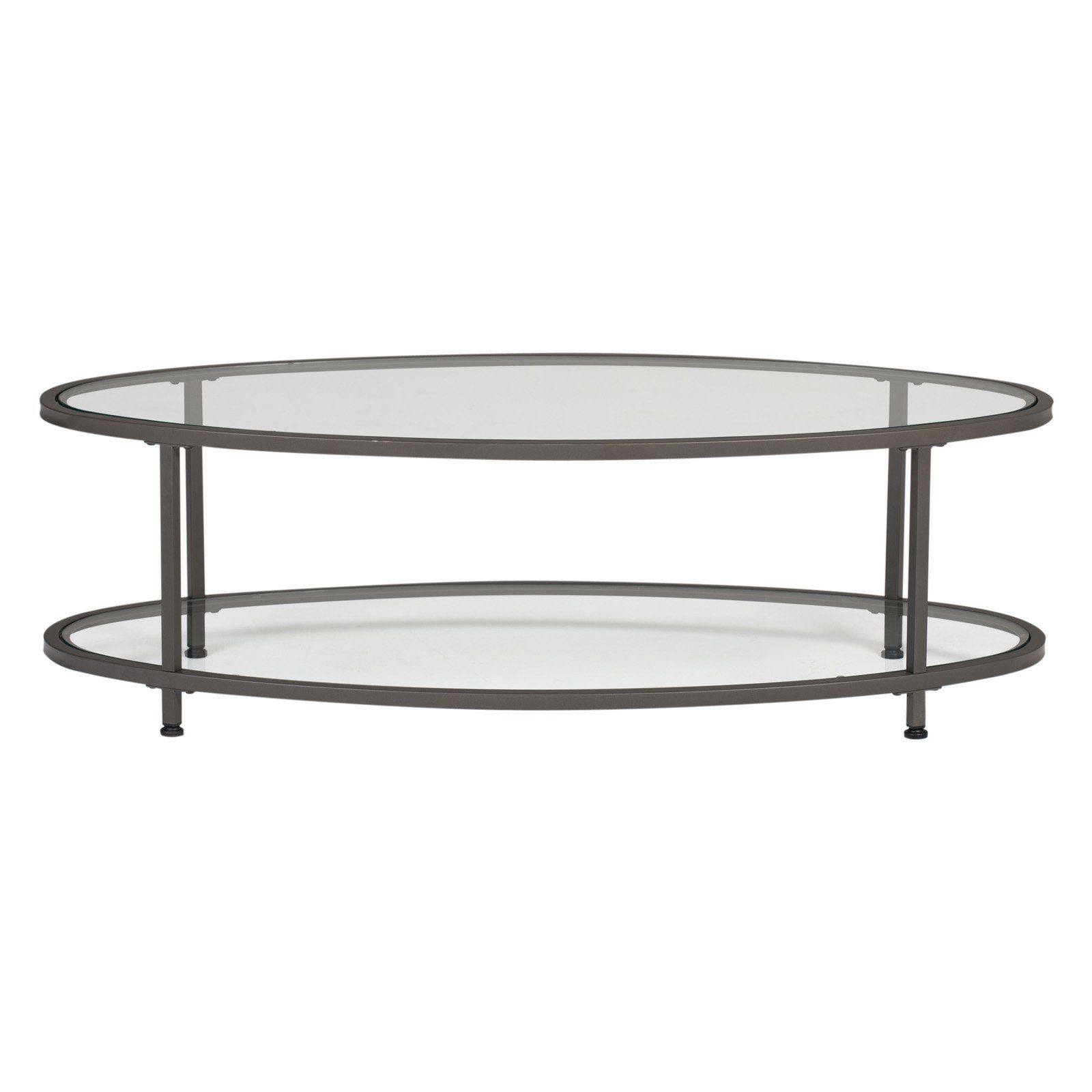 Studio Designs Home Camber 48 In Oval Coffee Table Oval Coffee Tables Coffee Table Oval Glass Coffee Table [ 1600 x 1600 Pixel ]