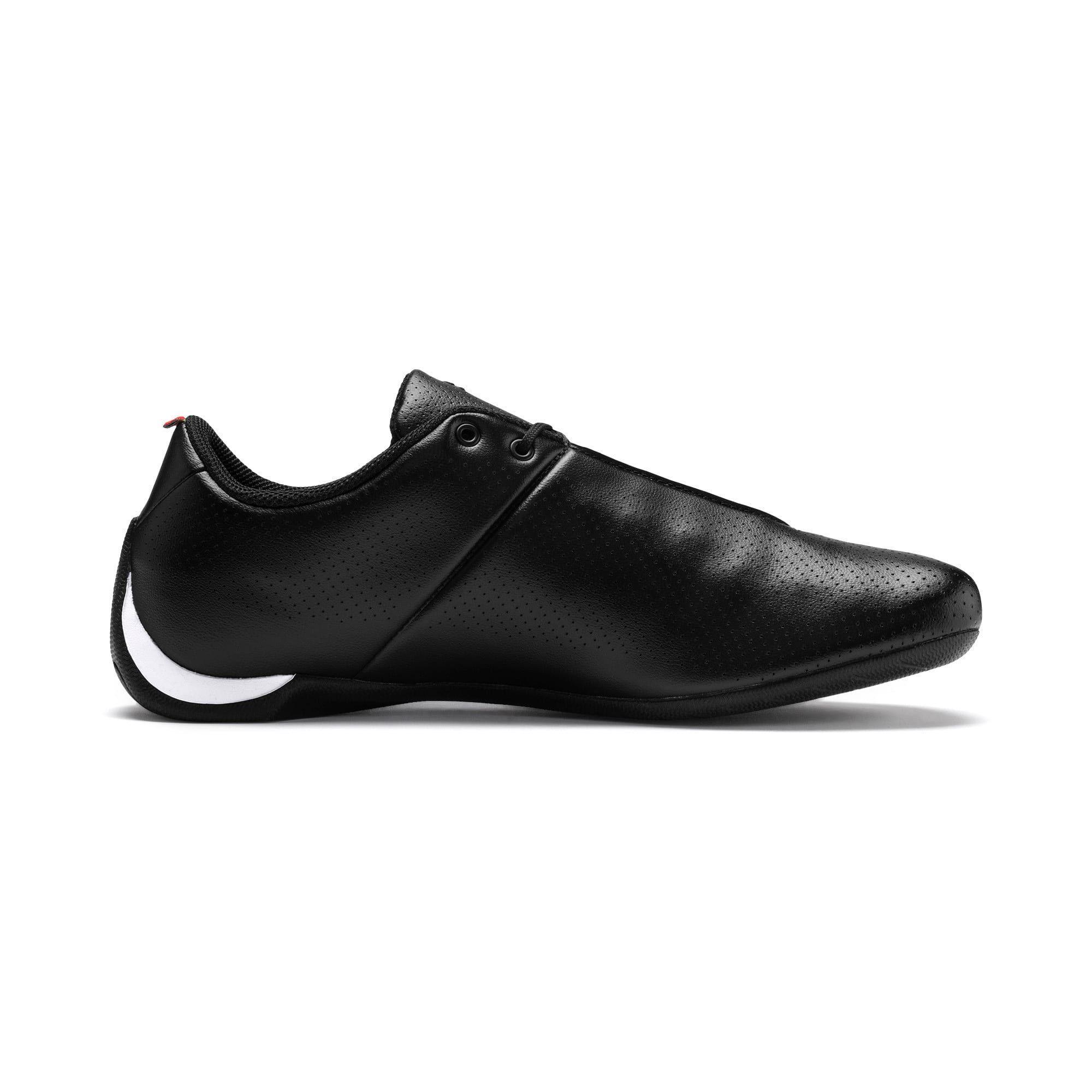 PUMA Ferrari Future Cat Ultra Trainers, Black/White, size 6.5, Shoes