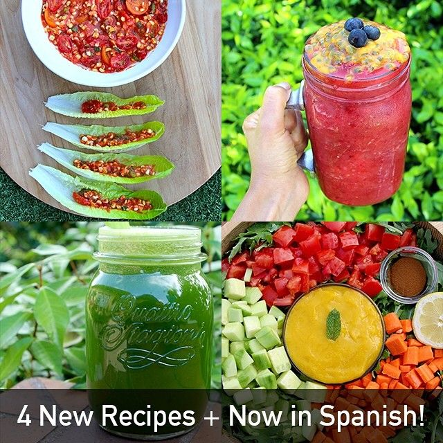 Rawvanas raw recipes app 4 new recipes on update and spanish food rawvanas raw recipes app forumfinder Image collections