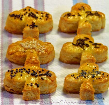 Les biscuits au comté du site du miel et du sel