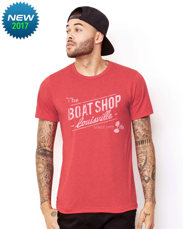ecbe1f583 Boat Shop triblend tshirt #boating #boatup #goboating #kcco #lakelife  #wakeboarding #boatlife #onlineshirts #tees #tshirts #boating