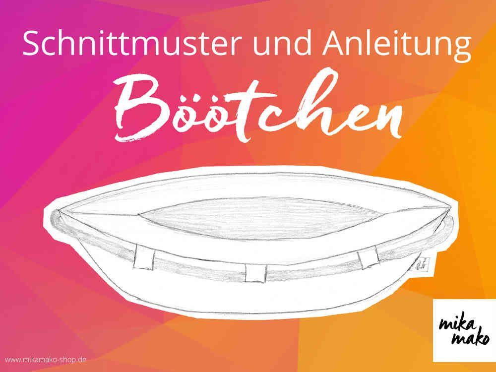 eBook - Böötchen (Einheitsgr.) - Schnittmuster | Schnittmuster ...