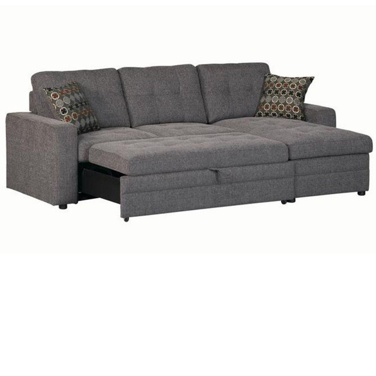 European Sleeper Sectional Sofa Giorgio With Storage Modern Design Grey Fold Out Couch Modern Sofa Sectional Types Of Couches