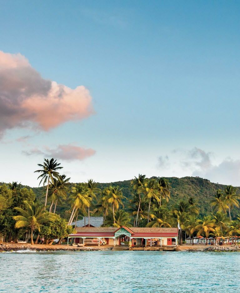 Guadeloupe Beach: The Langley Resort Fort Royal Guadeloupe Hotel In
