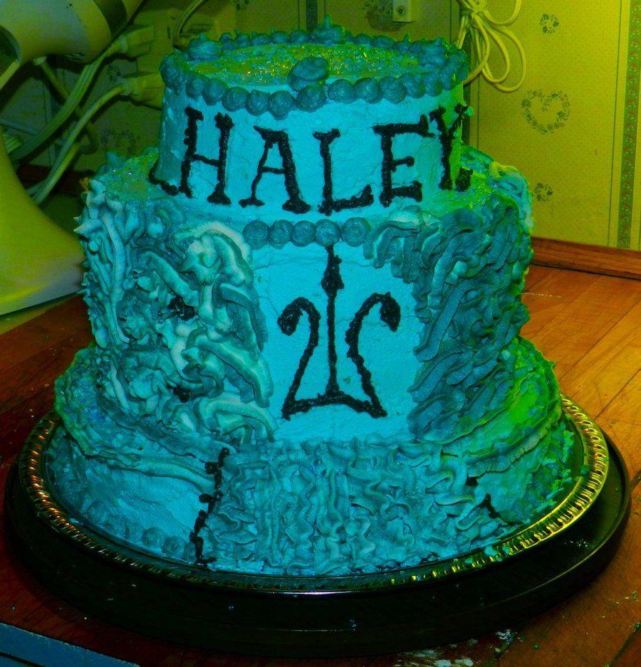 Percy Jackson Birthday Cake By Lavenderflower23iantart On