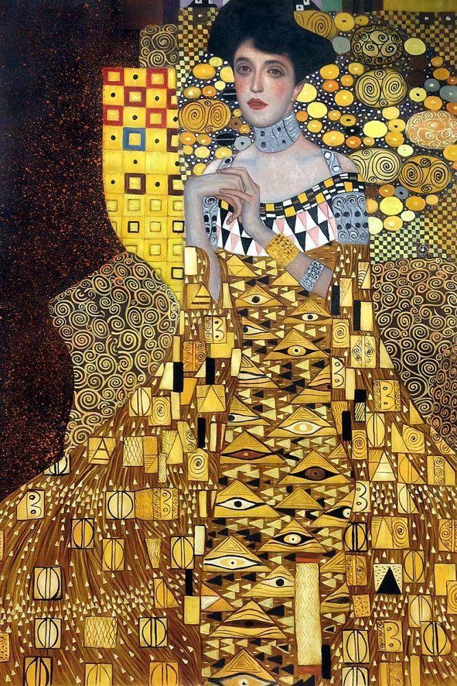 Portrait of Adele Bloch-Bauer 1, 1907 - Gustav Kli