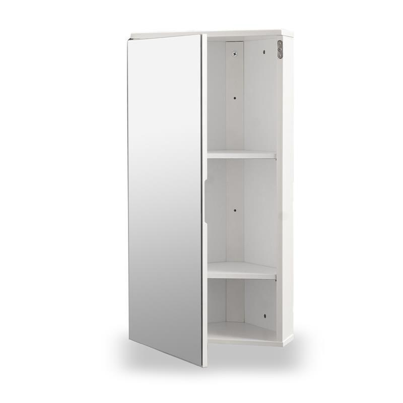 White Gloss Corner Bathroom Wall Cabinet Bathroom Wall Cabinets Bathroom Accessories Luxury Bathroom Wall