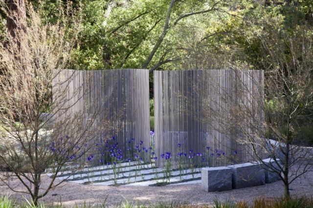 Sichtschutz Garten hoch moderne Gestaltung Ideen | Garten ...