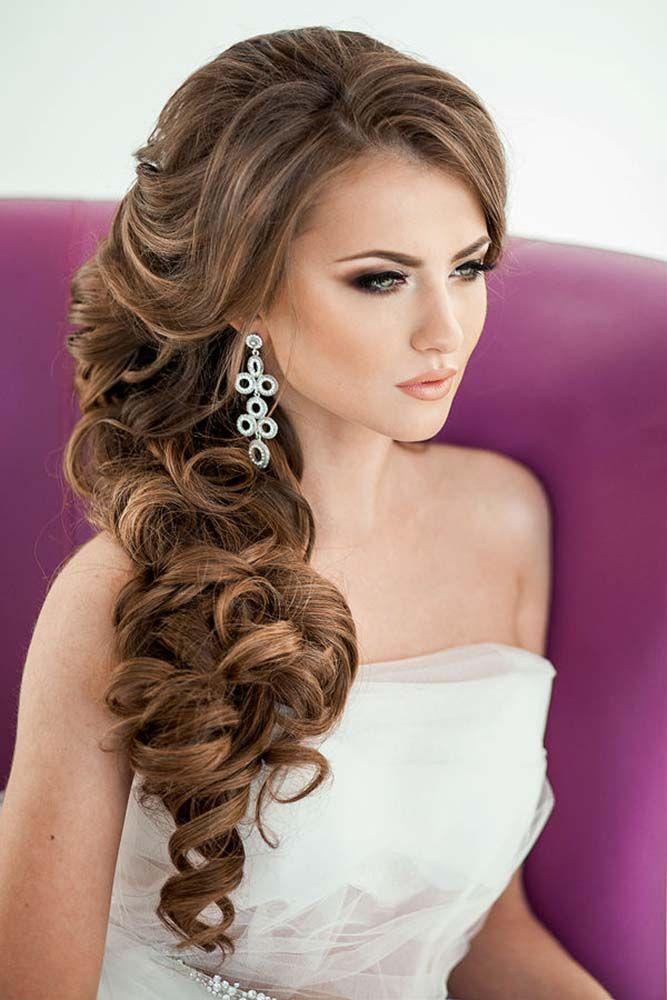 Pin By Nour Ali On تسريحات Hairstyles Cabello Peinados Para Boda