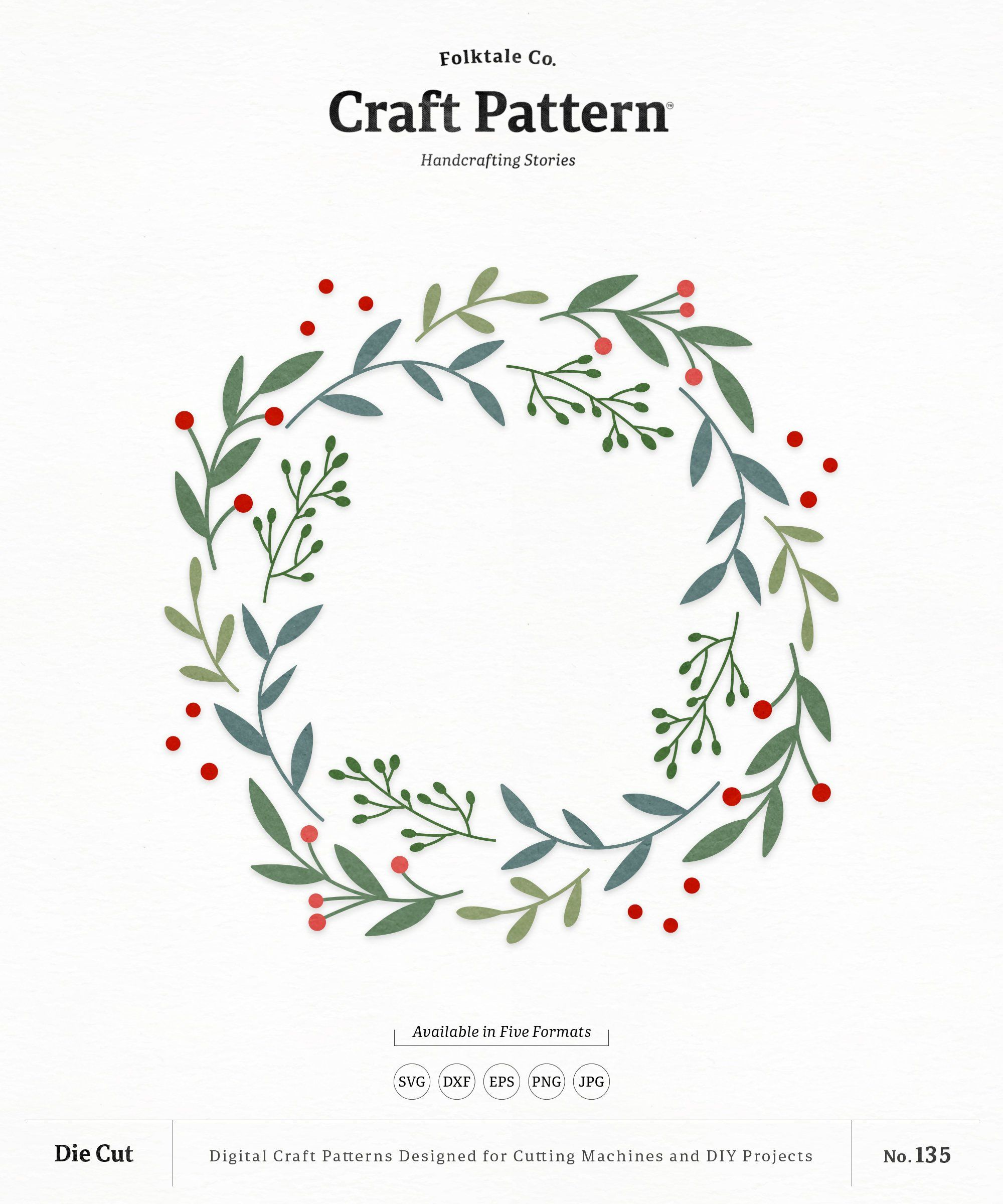 Pin on wreath