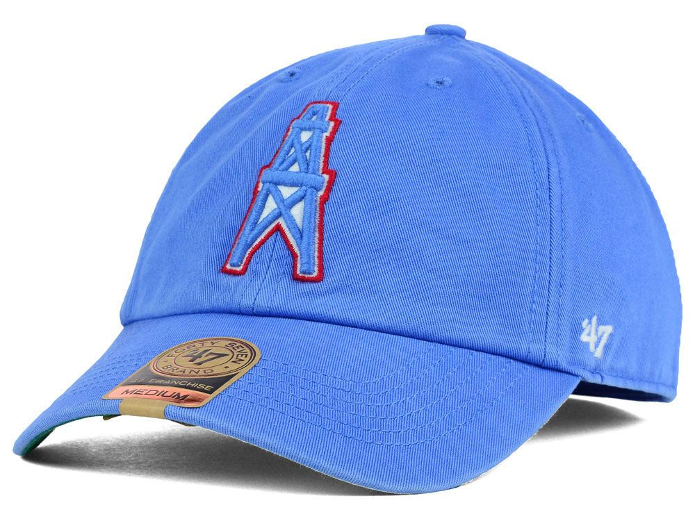 cefb17b1c Houston Oilers  47 NFL  47 FRANCHISE Cap
