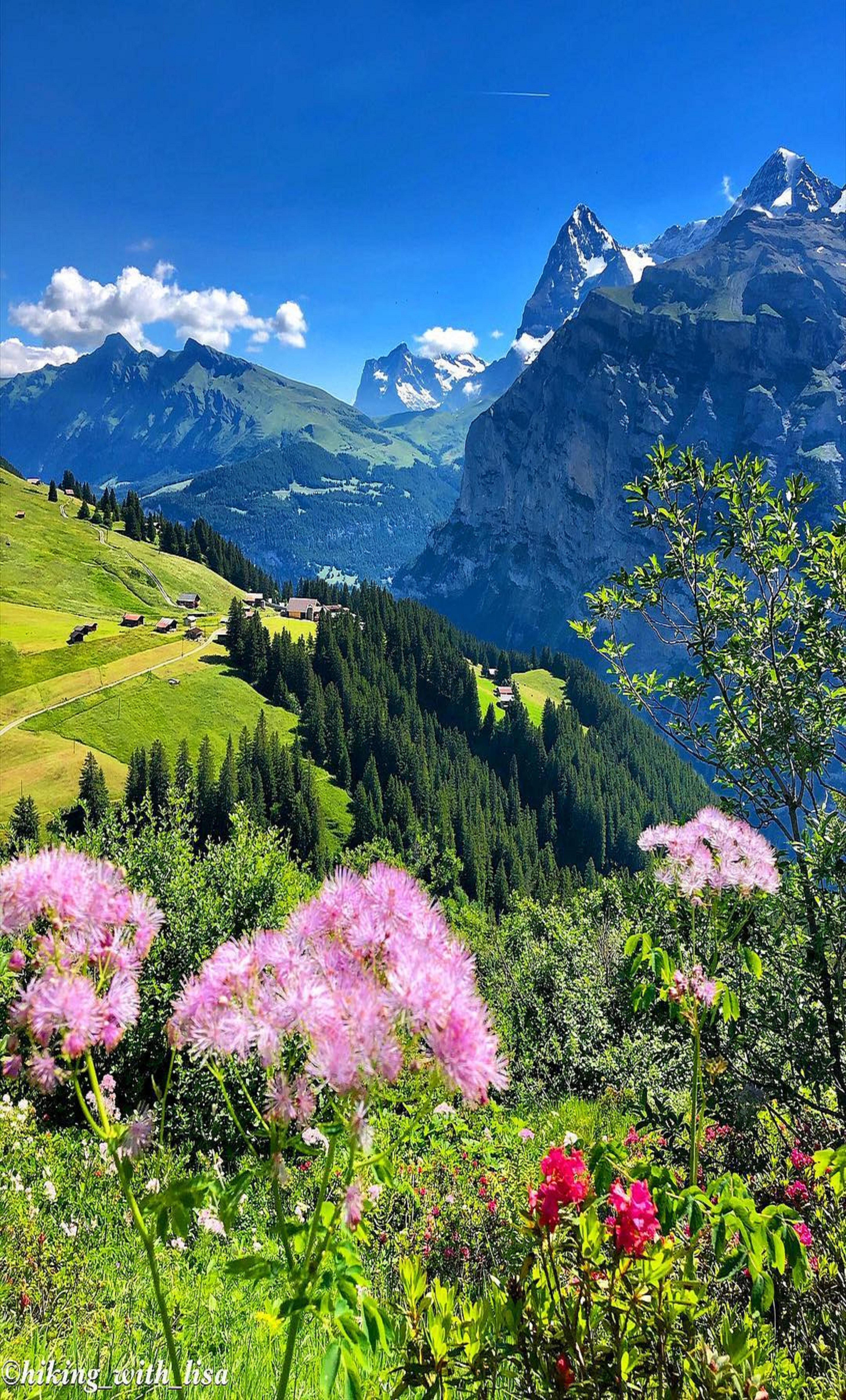 Murren Switzerland Beautiful Nature Beautiful Landscapes Nature Photography