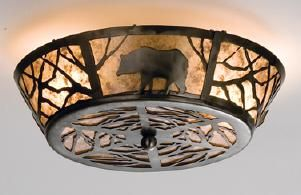 Mica lamps from Adirondack Rustic Designs