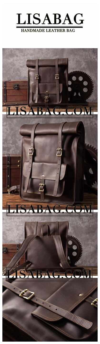 Handmade Top Grain Leather Backpack Travelling Backpack Laptop Backpack MG33    Leather backpacks   Pinterest   Laptop backpack, Backpacks and Originals a5476c8b88