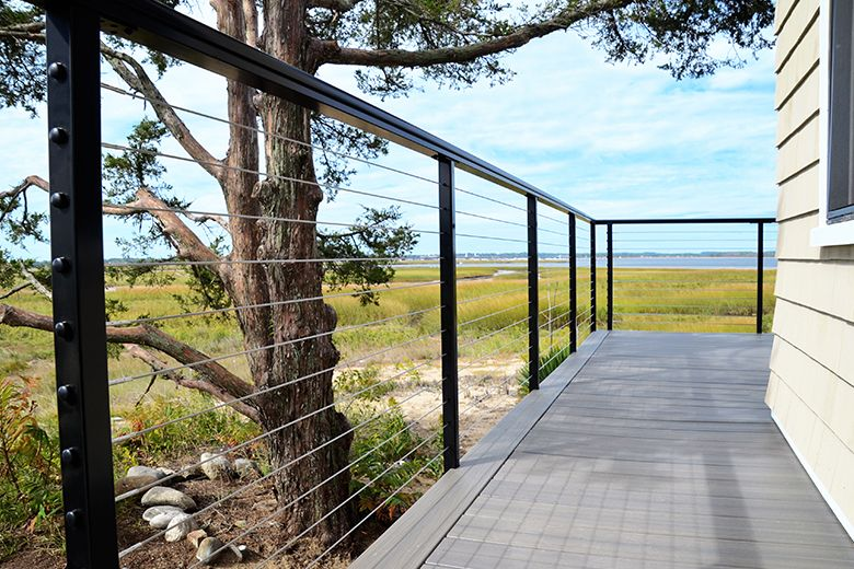 Spectrum System Cable railing systems, Railing, Deck