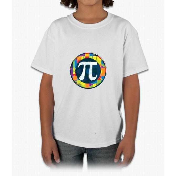 Pi Day Symbol 4 Young T-Shirt