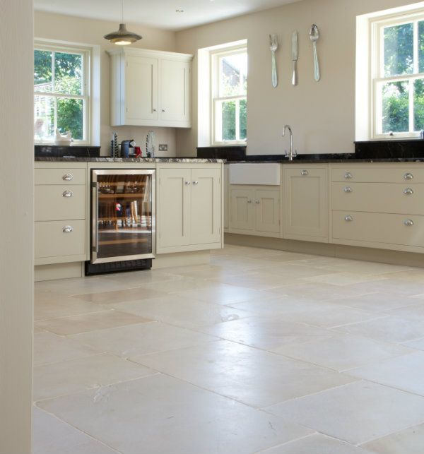 Kitchen Wall Tiles Ivory: Dorchester Sandstone In A Tumbled Finish. Grand Limestone
