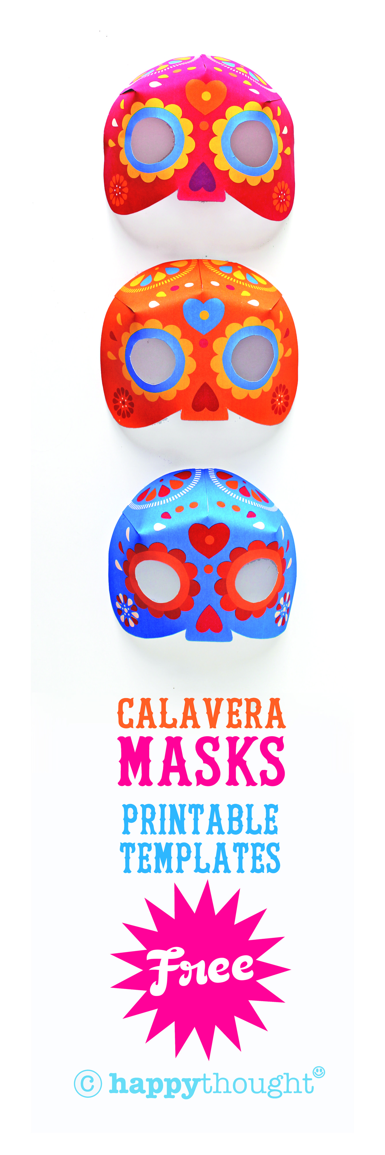 3d Calavera Mask Craft Video