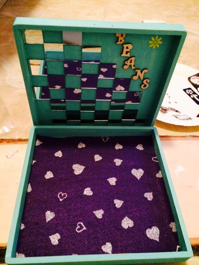 Inside trinket box