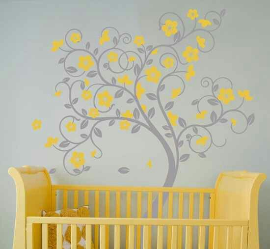 Nice wall deco for baby\'s room | Decorating | Pinterest | Decorating ...
