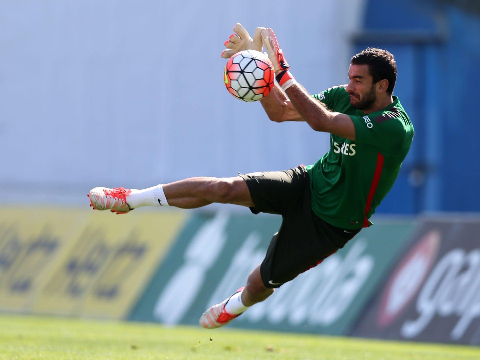 Portuguese national team soccer goalkeeper Rui Patricio