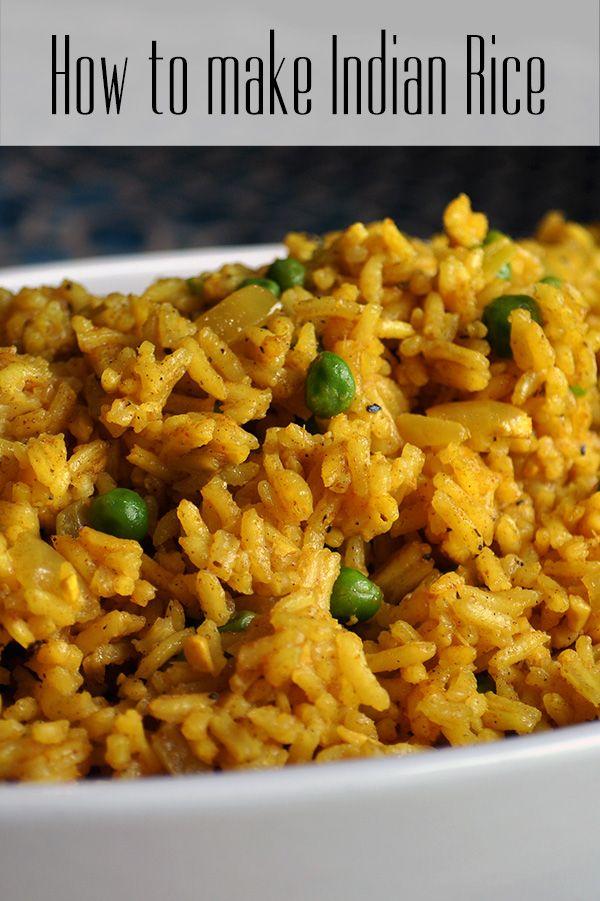 Indian Rice | Recipe | Indian food recipes, Food recipes ...