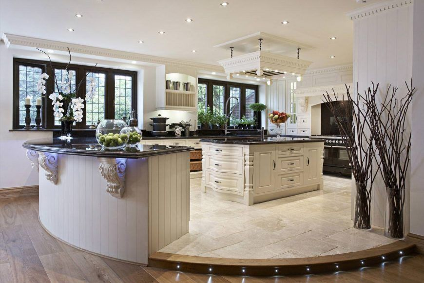 20+ Kitchen Designs with Two Islands (or More) Pinterest Round