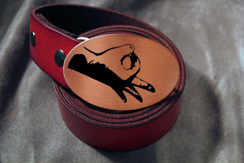 Circle Game Belt Buckle