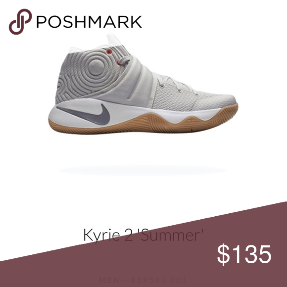 b97d0ebb824e Nike Kyrie 2 Summer 819583-001 Bone Silver Brand new without box Nike Shoes  Sneakers