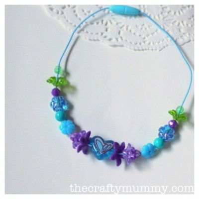 Beading with Kids: Necklace