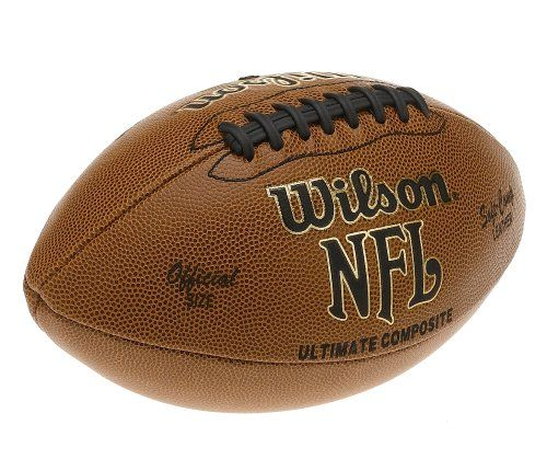 7ee9f329776e3 Amazon.com: Wilson F1845 NFL Ultimate Composite Game Football ...