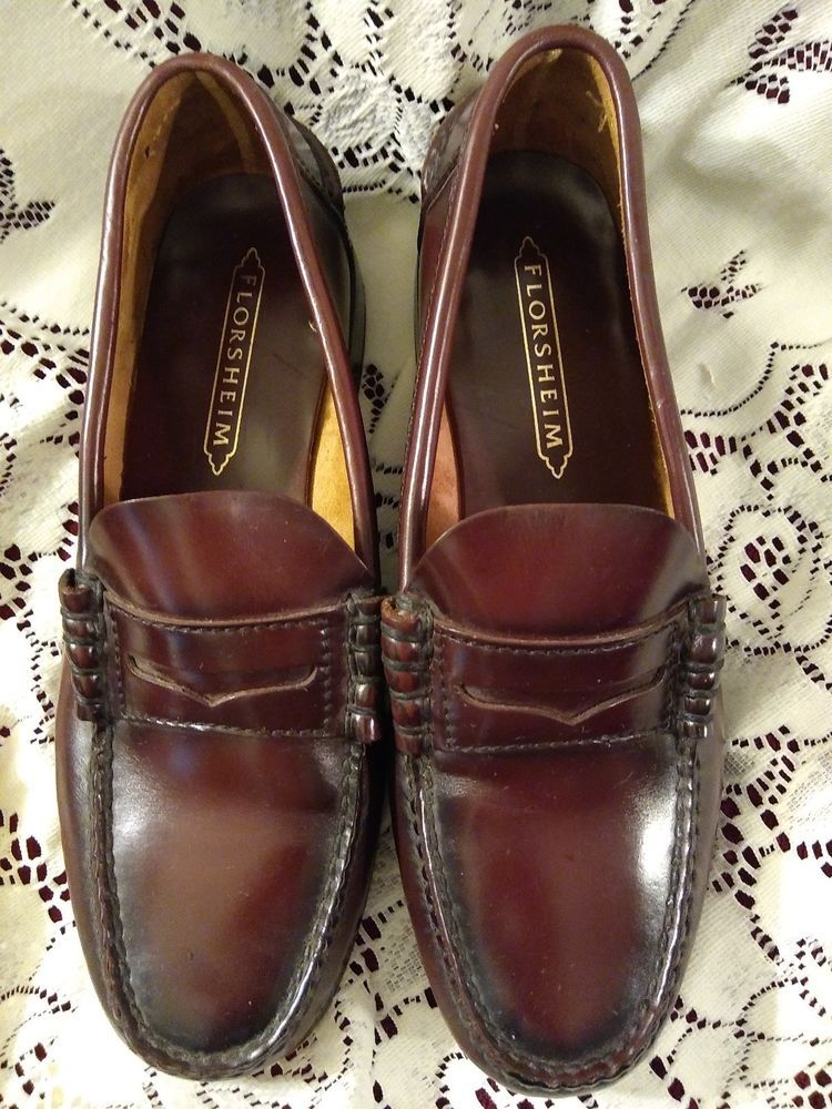 """Black White Men/'s Wing Tip Lace Up Oxford Dress Shoes /""""PREOWNED/"""""""