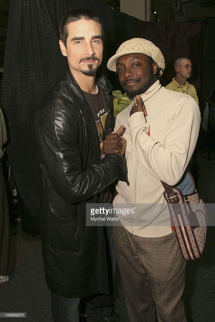 Kevin Richardson With Will I Am Of Black Eyed Peas Black Eyed Peas Kevin Richardson Black I Peas