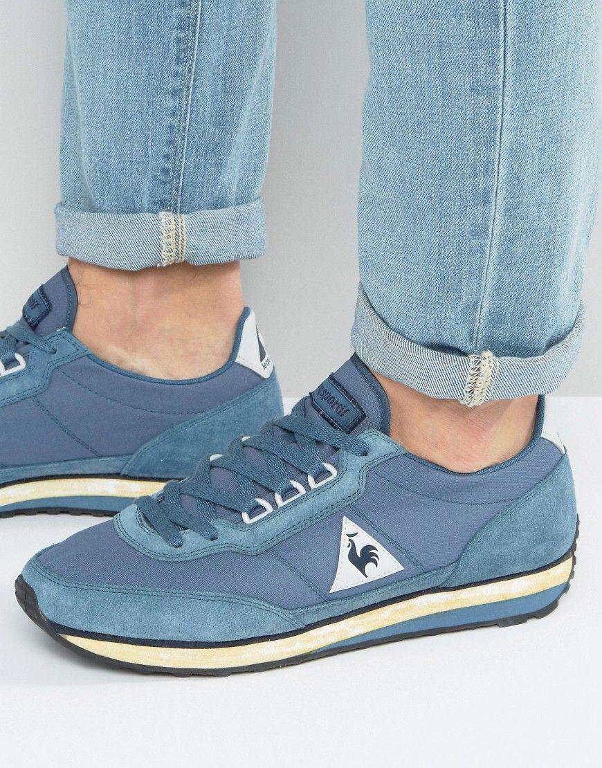 570235b81e18 LE COQ SPORTIF AZSTYLE SNEAKERS IN BLUE 1710166 - BLUE.  lecoqsportif   shoes