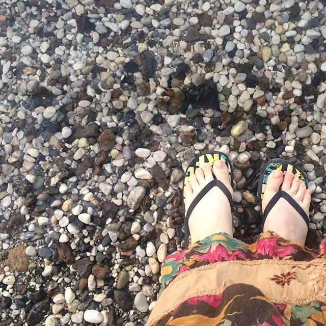 #summerholiday starts when ur feet meet the #sea 🌊#mediterranean ⭐️#pebblebeach 🏊🏻♀️ #montereylocals #pebblebeachlocals - posted by Nihal Doğan https://www.instagram.com/ihyanihal - See more of Pebble Beach at http://pebblebeachlocals.com/