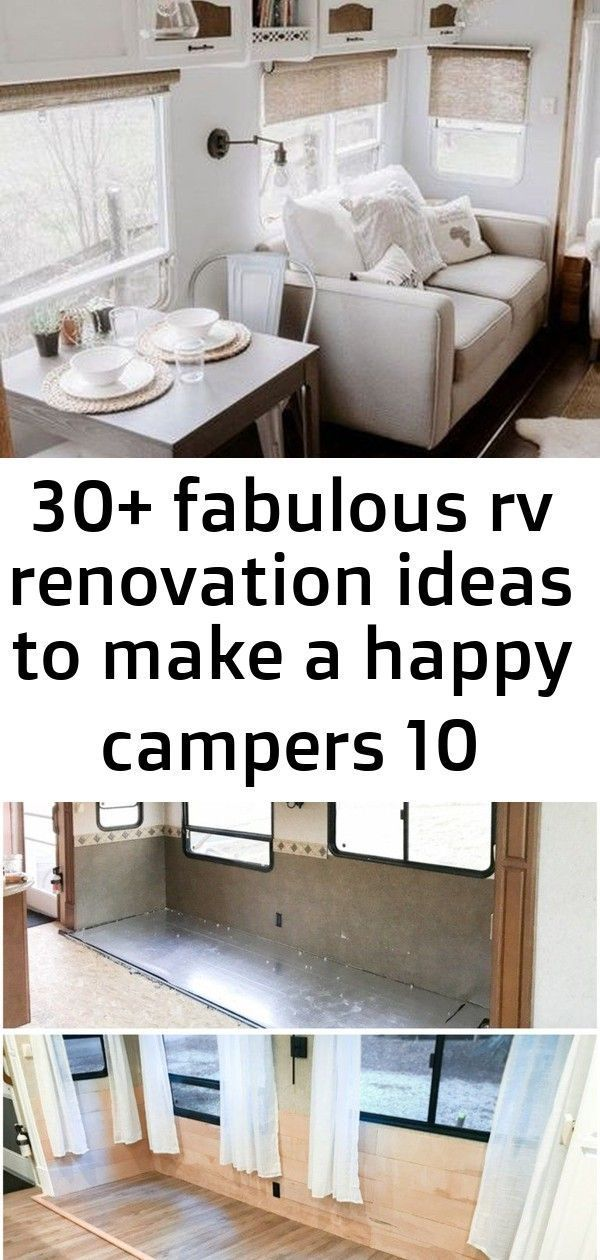 Awesome 30+ Fabulous RV Renovation Ideas To Make A Happy Campers Replacing That Old Carpet – KR