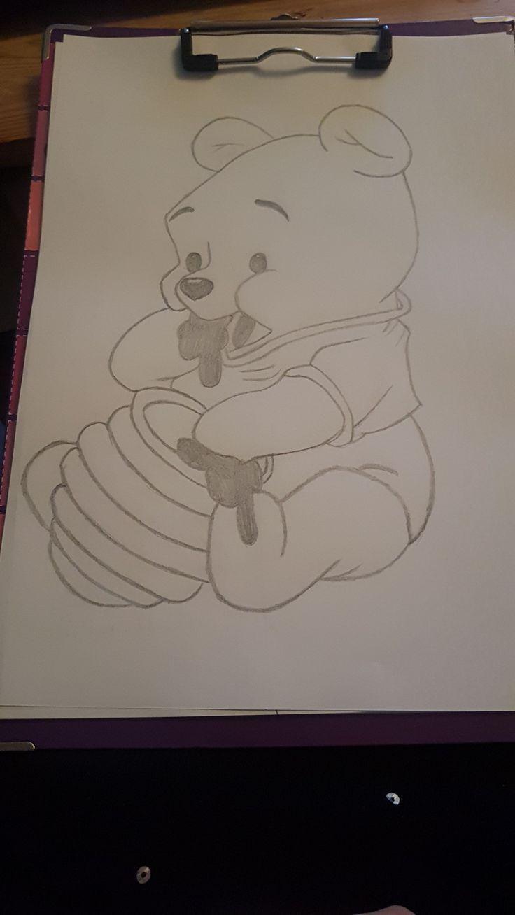 Meine Disney Zeichnung - Winnie Pooh #Bleistiftzeichnung Meine Disney Zeichnung – Winnie Pooh #DisneyZeichnungeinfach #DisneyZeichnungtiere #disneyzeichnungwinniepooh