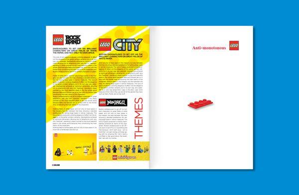 LEGO Newsletter on Behance   lego   Pinterest   Lego, Editorial ...