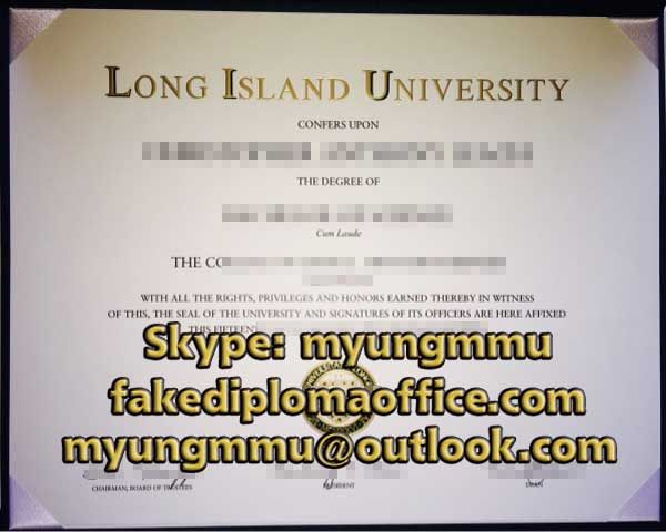 The Place to buy fake Long Island University degree,LIU diploma - fake divorce certificate
