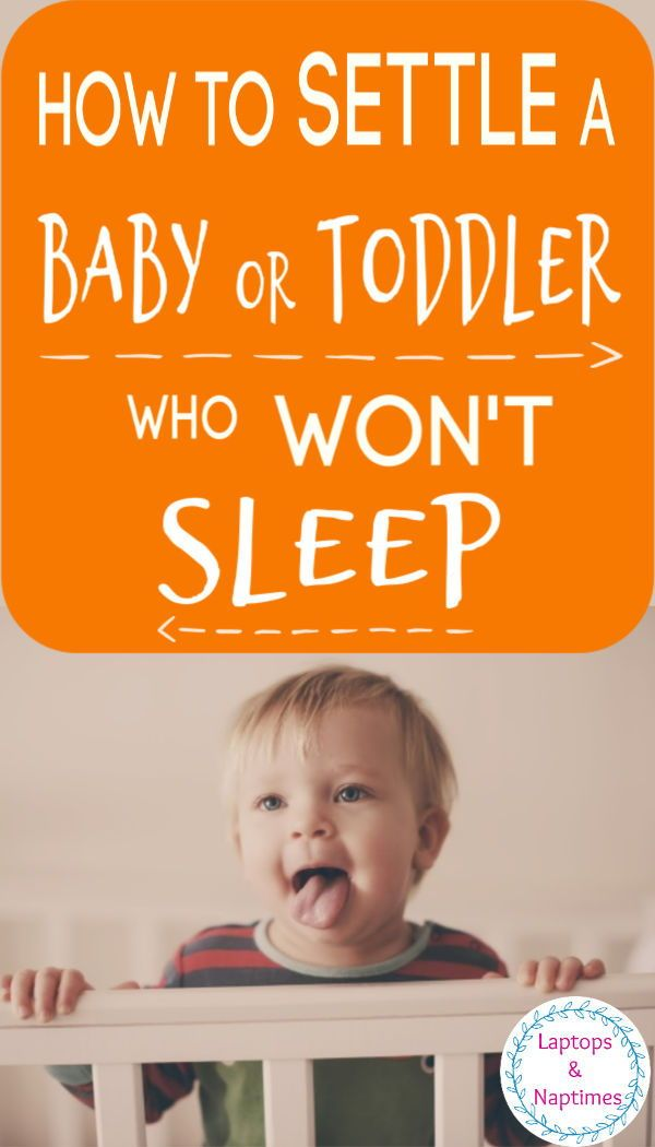How To Settle A Restless Baby To Sleep And Keep Calm