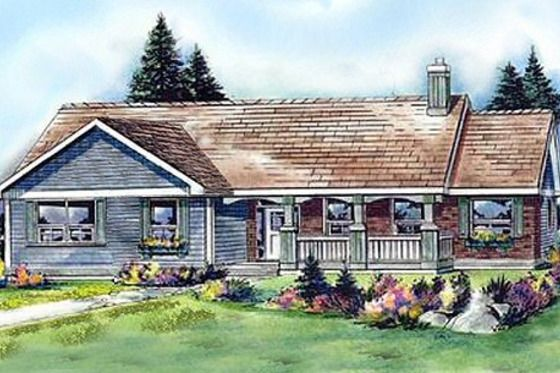 Craftsman Style House Plan 3 Beds 2 Baths 1550 Sq Ft Plan 427 5 Houseplans Com Country Style House Plans Monster House Plans Country House Plans