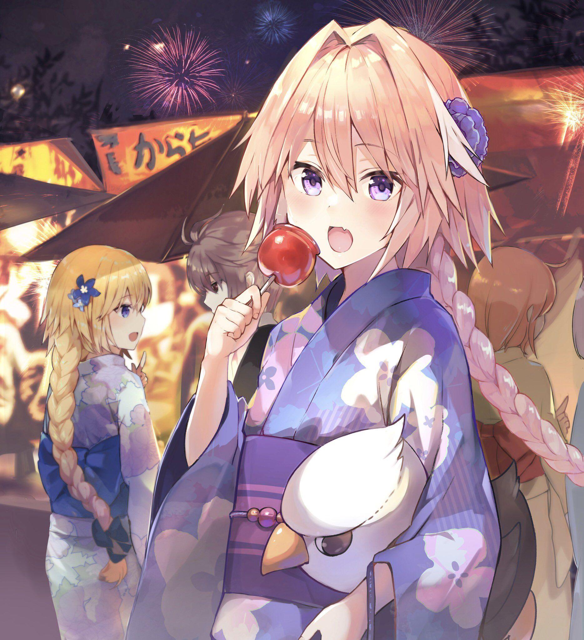 楠元とうか on | my fate | Astolfo fate, Anime, Heaven wallpaper